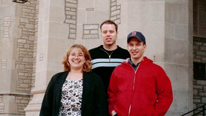 Group picture of Tiffany Maher, Leon Goeden and Daniel Robertson
